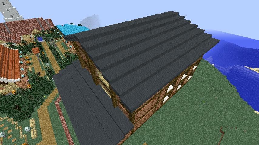 Minecrafterししゃもがマインクラフトでぷっこ村にログアパートを建築する6