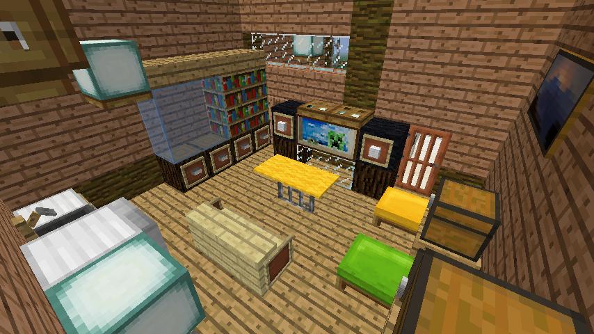 Minecrafterししゃもがマインクラフトでぷっこ村にログアパートを建築する10
