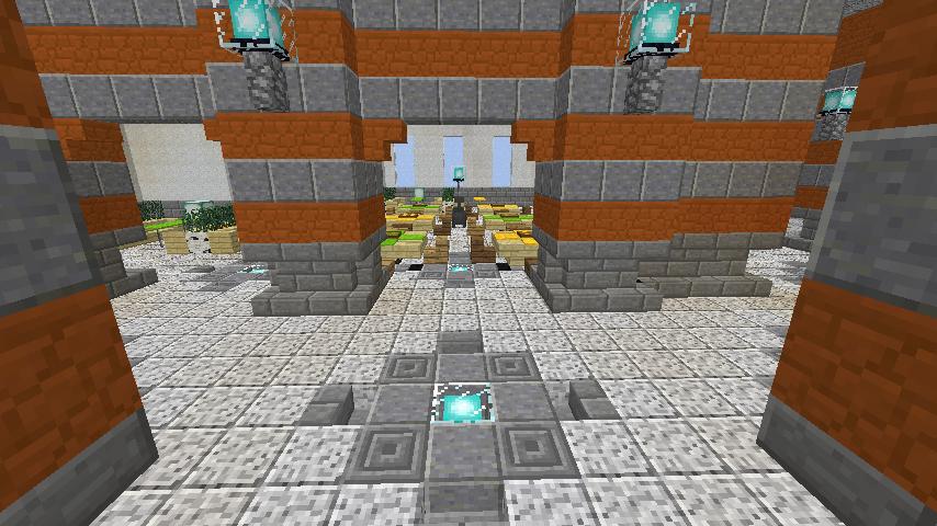 Minecrafterししゃもがマインクラフトでぷっこ村に船着き場を建設する6