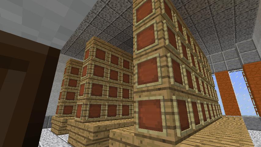 Minecrafterししゃもがマインクラフトでぷっこ村に船着き場を建設する10