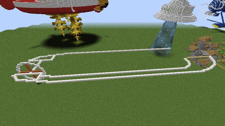 Minecrafterししゃもがマインクラフトでぷっこ村に観光用大型フェリーを造船する1