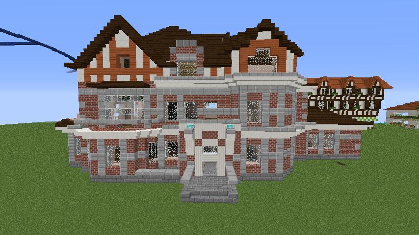Minecrafterししゃもがマインクラフトでぷっこ村に国際友好記念図書館を再現する10