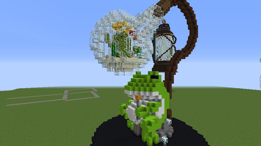 Minecrafterししゃもがマインクラフトでぷっこ村にカエルの海難救助隊を結成する7