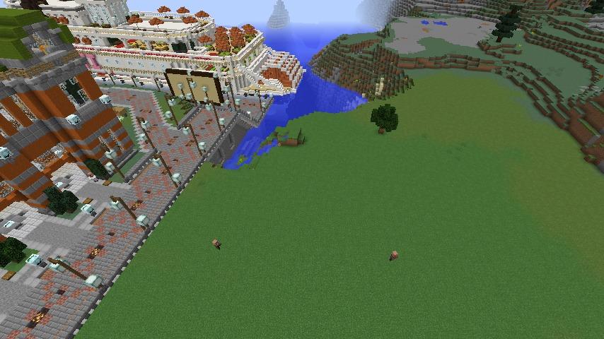 Minecrafterししゃもがマインクラフトでぷっこ村にカエルの海難救助隊を結成する1