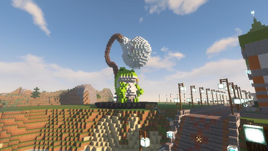Minecrafterししゃもがマインクラフトでぷっこ村にカエルの海難救助隊を結成する10