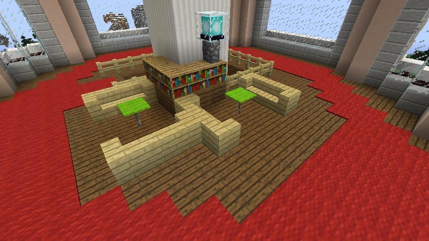 Minecrafterししゃもがマインクラフトでぷっこ村にみくに龍翔館をモデルにした役場を建築する12