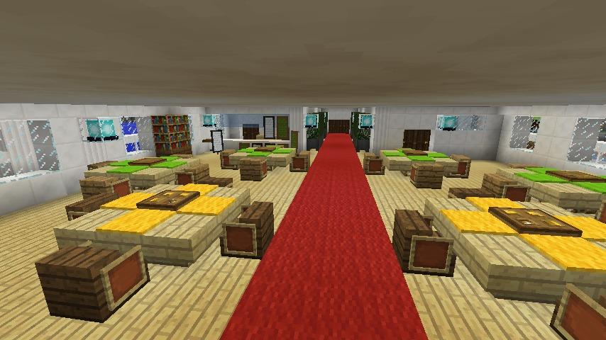 Minecrafterししゃもがマインクラフトでぷっこ村に作ったプチパールでナイトクルーズに出かけよう7