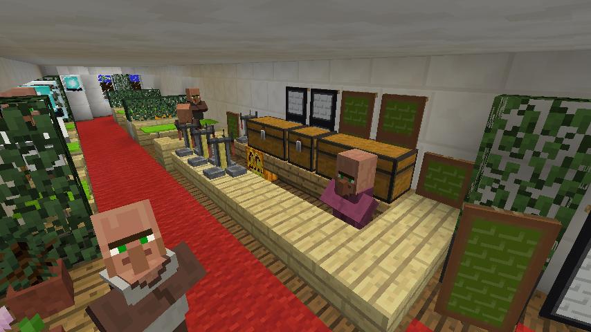 Minecrafterししゃもがマインクラフトでぷっこ村に作ったプチパールでナイトクルーズに出かけよう9