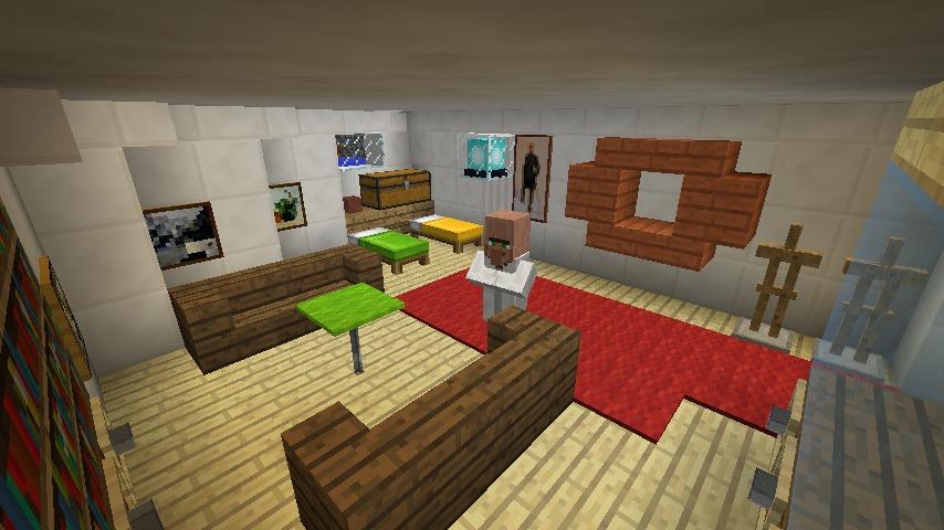 Minecrafterししゃもがマインクラフトでぷっこ村に作ったプチパールでナイトクルーズに出かけよう12