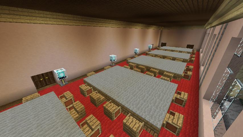 Minecrafterししゃもがマインクラフトでぷっこ村に日本郵船株式会社小樽支店をもでるにした郵便局を作る8