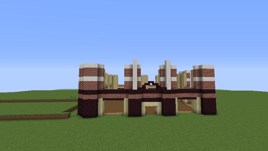 Minecrafterししゃもがマインクラフトでぷっこ村にレストランを建築する5