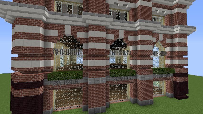 Minecrafterししゃもがマインクラフトでぷっこ村にレストランを建築する8