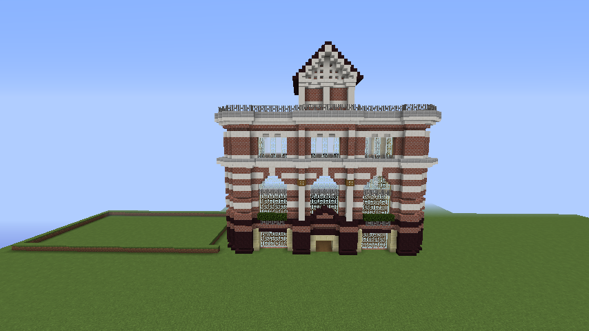 Minecrafterししゃもがマインクラフトでぷっこ村にレストランを建築する7