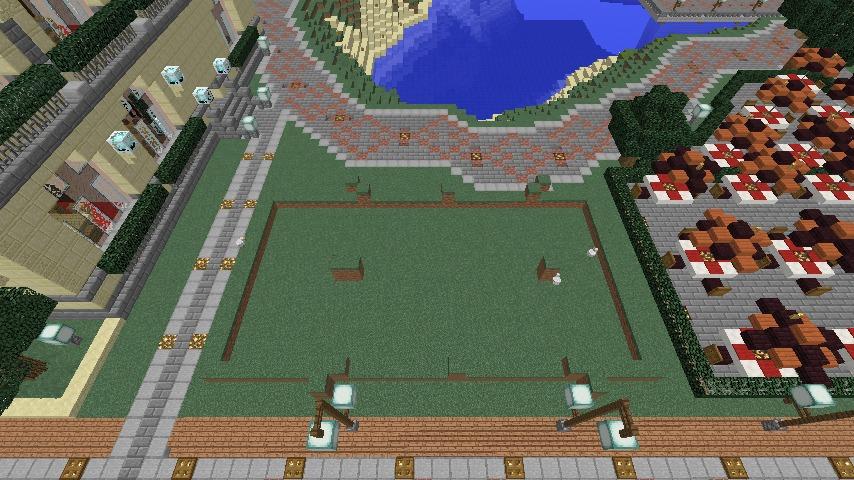 Minecrafterししゃもがマインクラフトでぷっこ村に交番を建築する1
