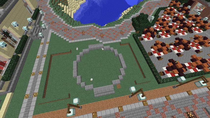 Minecrafterししゃもがマインクラフトでぷっこ村に交番を建築する2