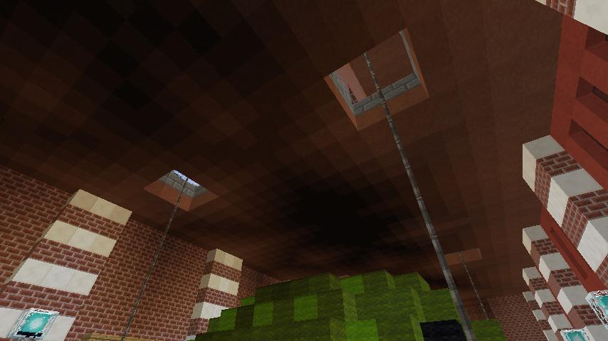 Minecrafterししゃもがマインクラフトでぷっこ村にCentral Fire Stationをモデルにした消防署を建築する11