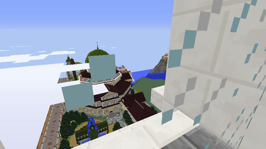 Minecrafterししゃもがマインクラフトでぷっこ村にCentral Fire Stationをモデルにした消防署を建築する16