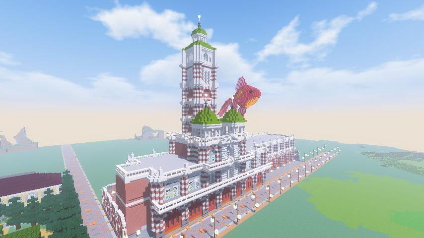 Minecrafterししゃもがマインクラフトでぷっこ村に新たな水源を設置する1