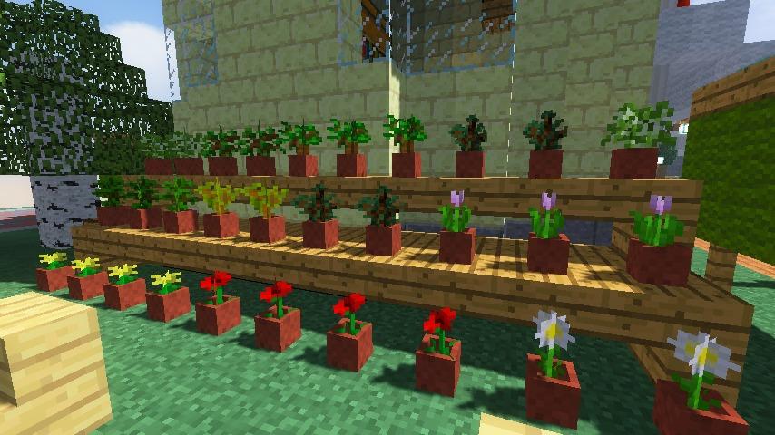 Minecrafterししゃもがマインクラフトでぷっこ村に交番を建築する7
