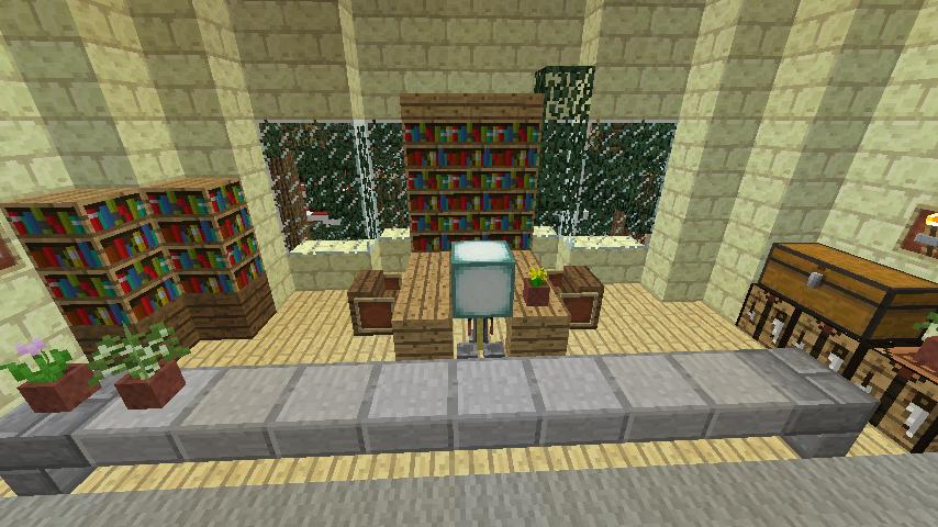 Minecrafterししゃもがマインクラフトでぷっこ村に交番を建築する9