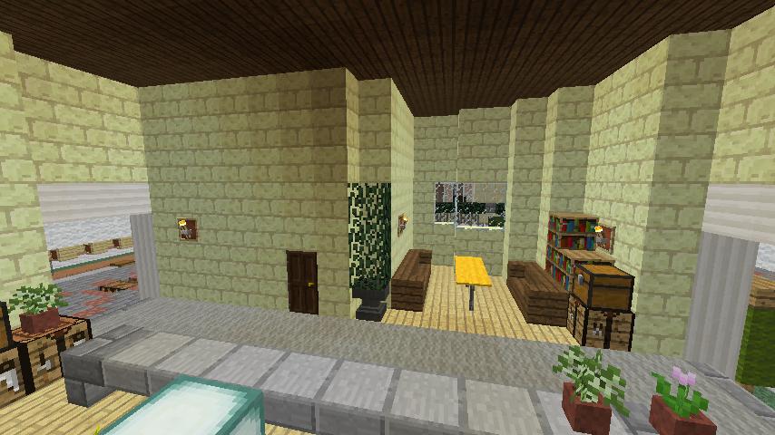 Minecrafterししゃもがマインクラフトでぷっこ村に交番を建築する10