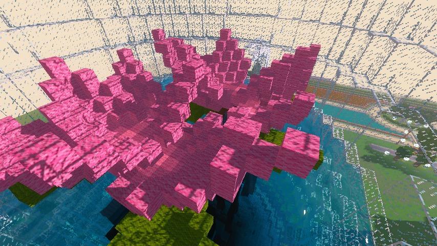 Minecrafterししゃもがマインクラフトでぷっこ村に新たな水源を設置する5