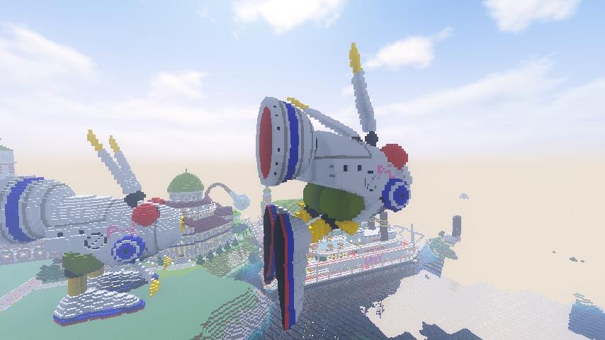 Minecrafterししゃもがマインクラフトでぷっこ村にロビットをモデルにした治安維持ロボットを作る7