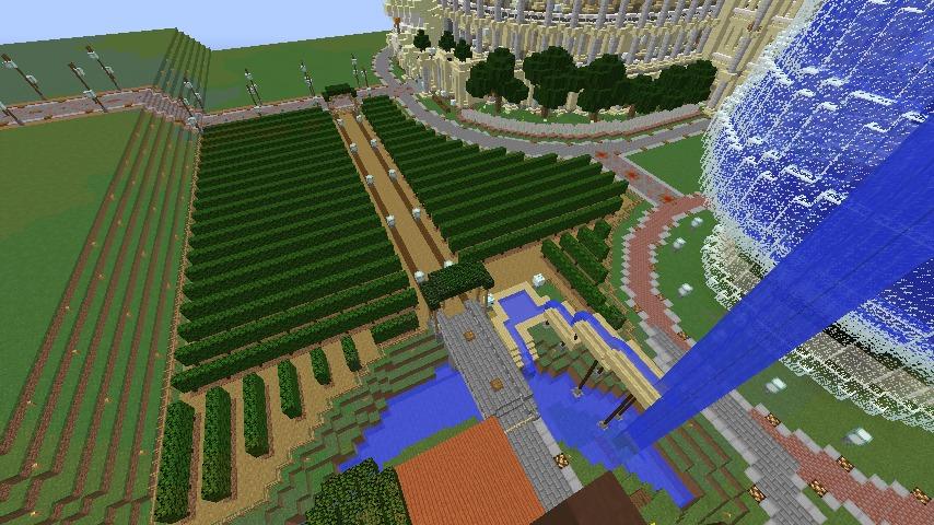 Minecrafterししゃもがマインクラフトでぷっこ村にブドウ園を作る2