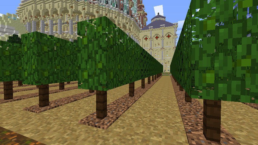 Minecrafterししゃもがマインクラフトでぷっこ村にブドウ園を作る4