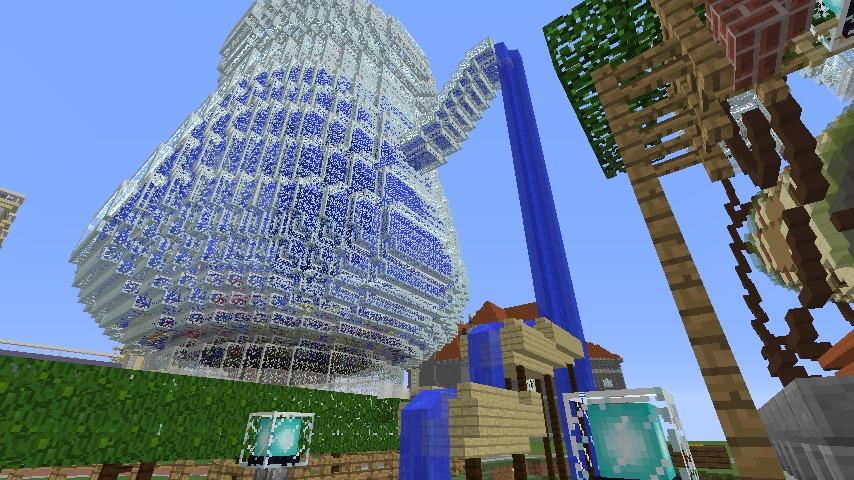 Minecrafterししゃもがマインクラフトでぷっこ村にブドウ園を作る3