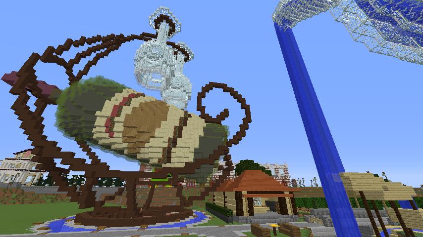 Minecrafterししゃもがマインクラフトでぷっこ村にブドウ園を作る6