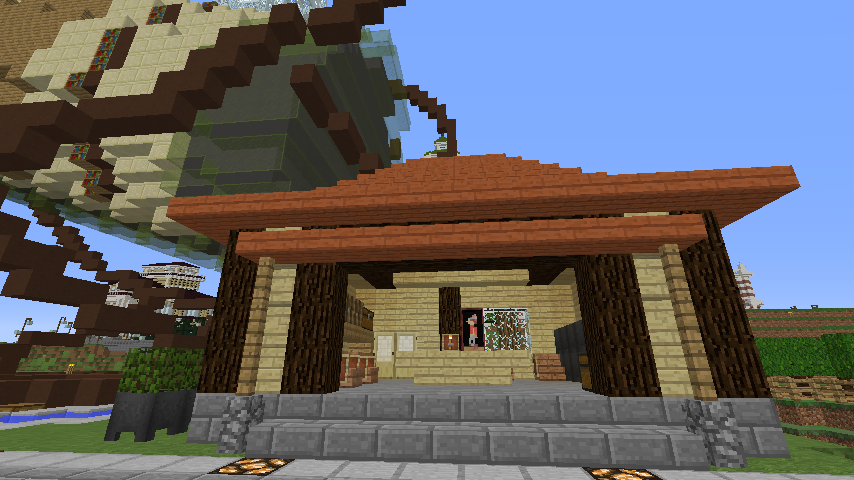Minecrafterししゃもがマインクラフトでぷっこ村にブドウ園を作る7