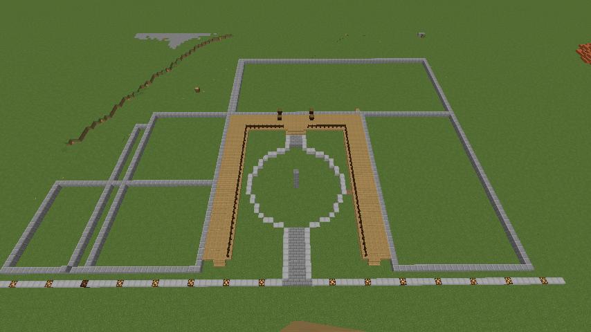 Minecrafterししゃもがマインクラフトでぷっこ村にワイナリーを建築する3