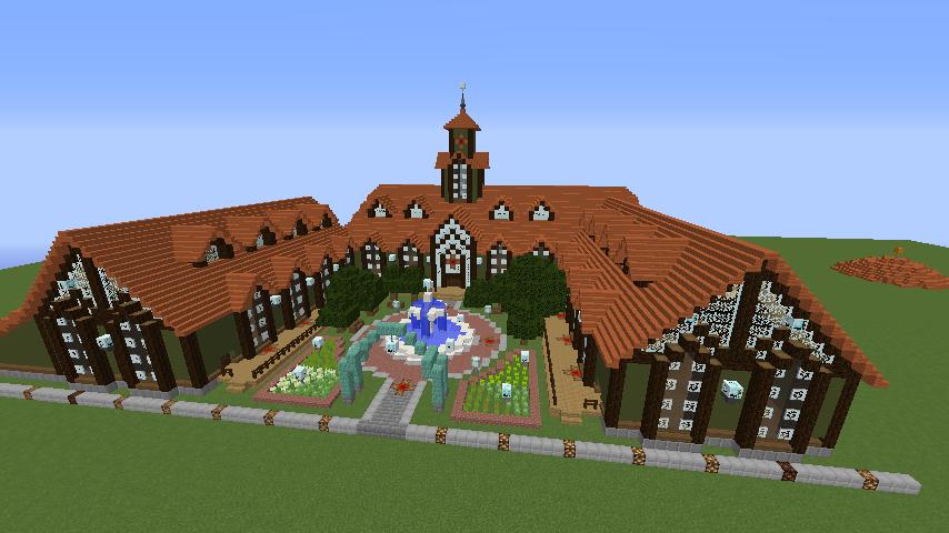 Minecrafterししゃもがマインクラフトでぷっこ村にワイナリーを建築する8