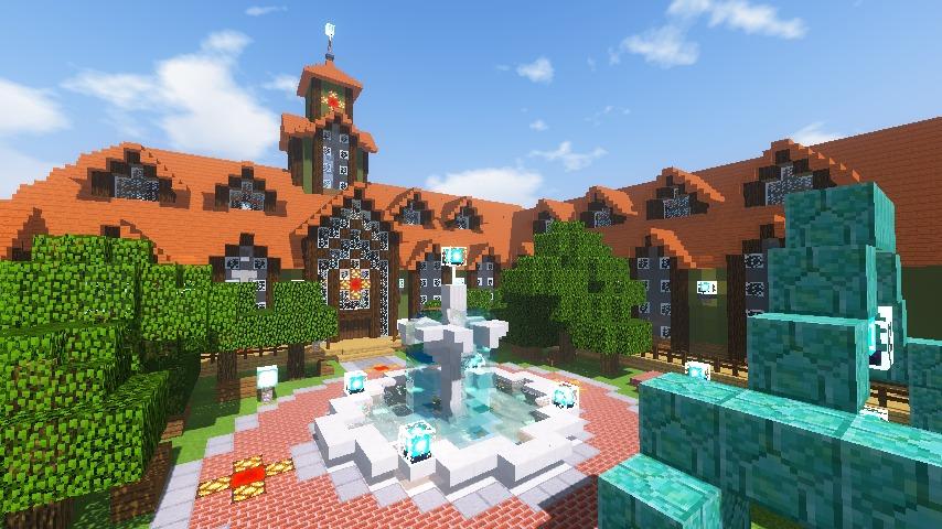Minecrafterししゃもがマインクラフトでぷっこ村にワイナリーを建築する11