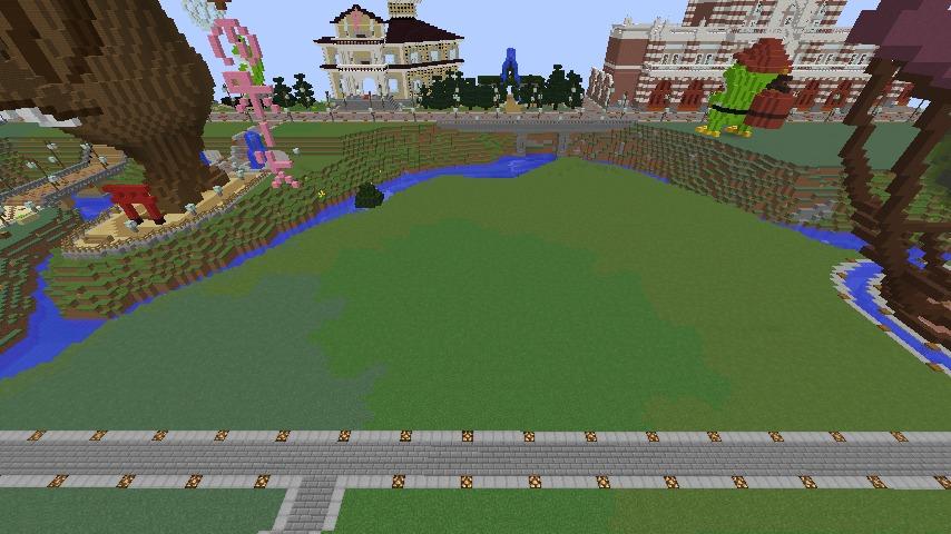 Minecrafterししゃもがマインクラフトでぷっこ村にワイナリーを建築する2