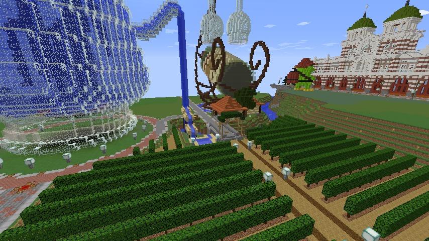 Minecrafterししゃもがマインクラフトでぷっこ村にブドウ園を作る5