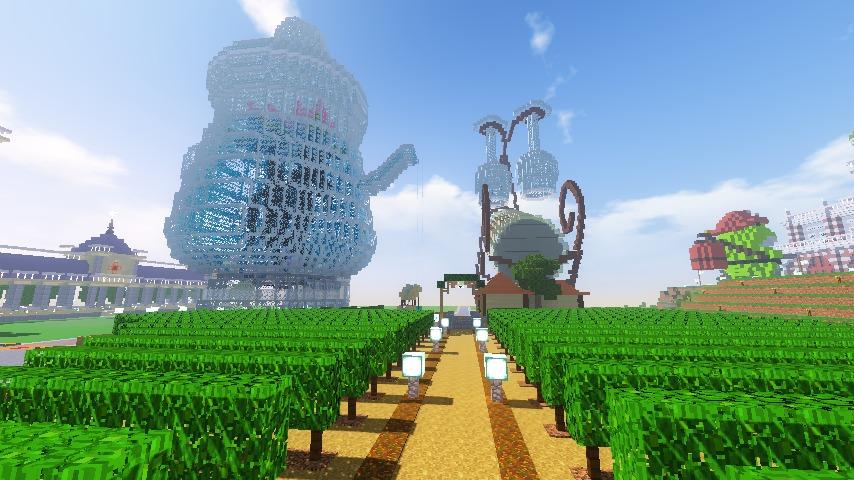 Minecrafterししゃもがマインクラフトでぷっこ村にブドウ園を作る9