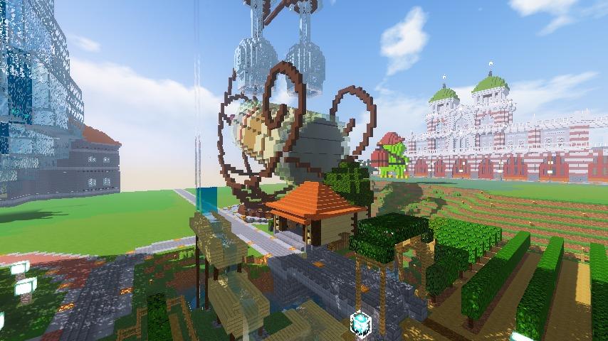 Minecrafterししゃもがマインクラフトでぷっこ村にブドウ園を作る10