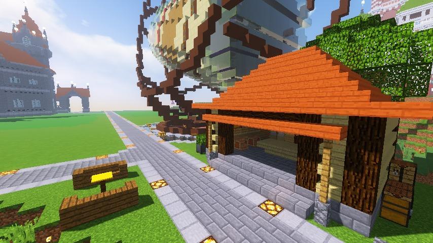 Minecrafterししゃもがマインクラフトでぷっこ村にブドウ園を作る11