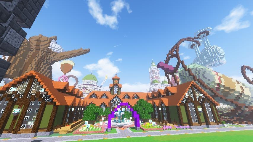 Minecrafterししゃもがマインクラフトでぷっこ村にワイナリーを建築する14