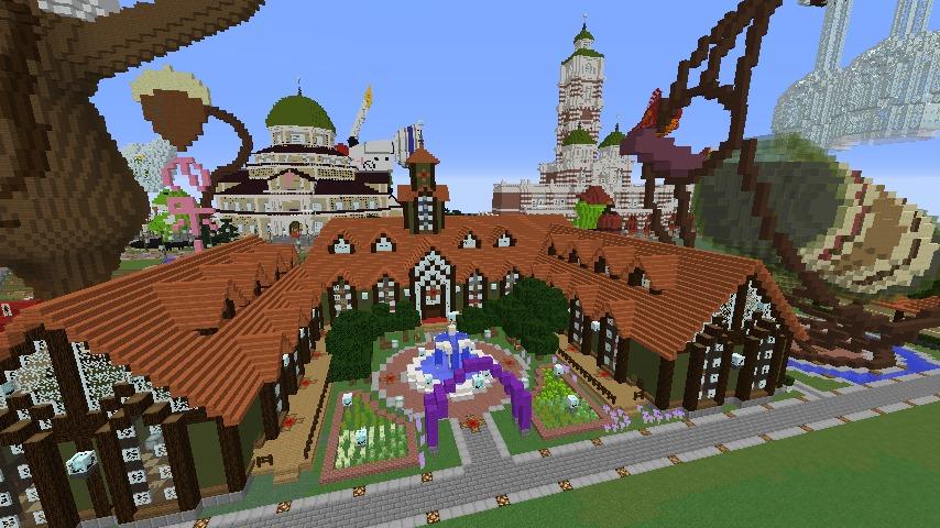 Minecrafterししゃもがマインクラフトでぷっこ村にワイナリーを建築する1