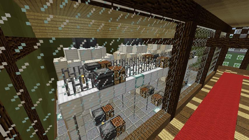 Minecrafterししゃもがマインクラフトでぷっこ村にワイナリーを建築する9