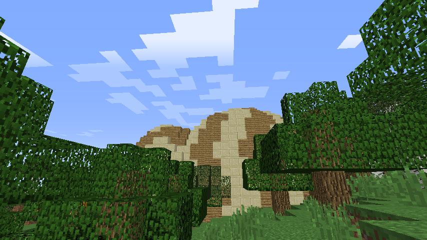 Minecrafterししゃもがマインクラフトでツチノコを発見する3