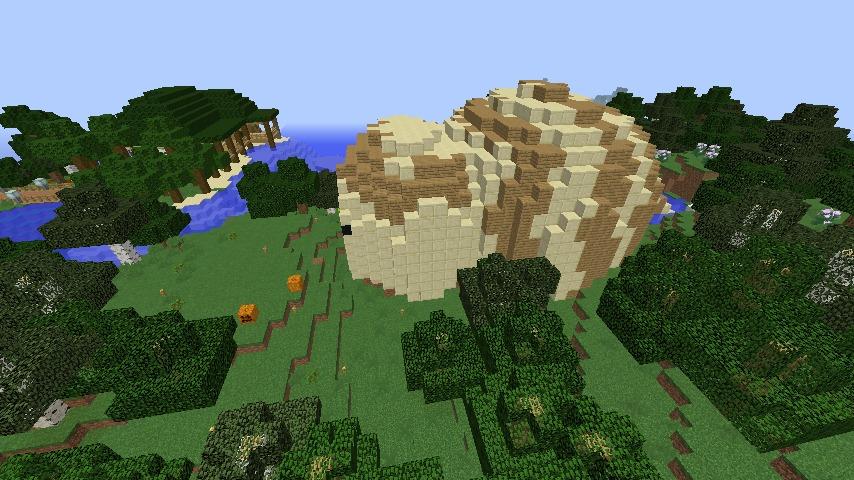 Minecrafterししゃもがマインクラフトでツチノコを発見する5