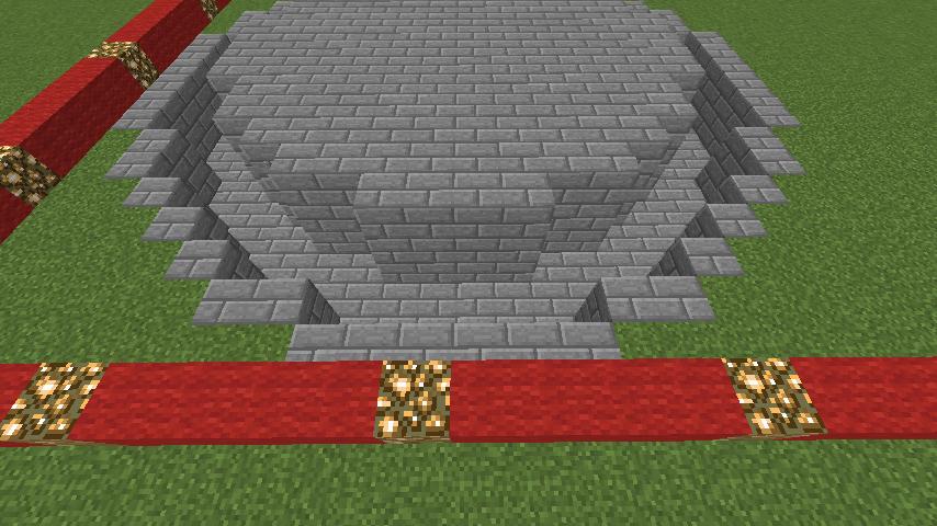 Minecrafterししゃもがマインクラフトでガゼボ風の噴水の作り方を紹介する3