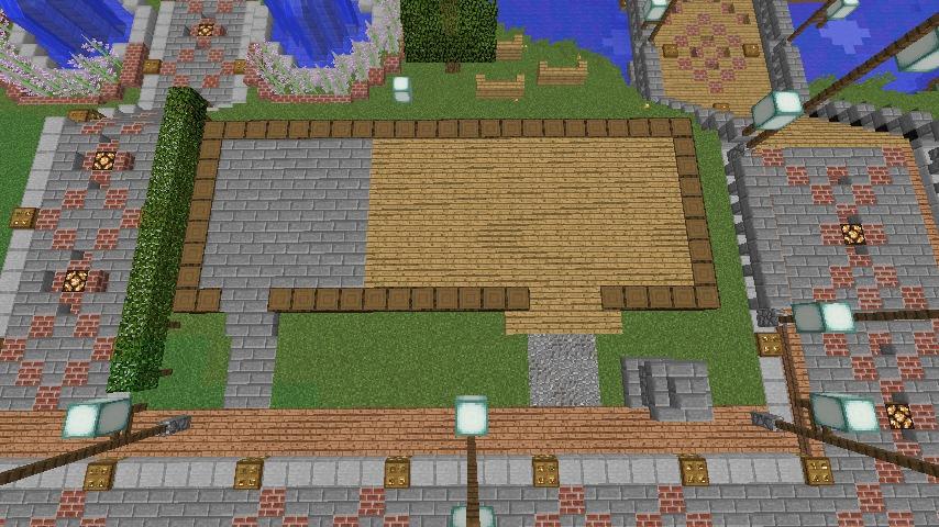 Minecrafterししゃもがマインクラフトでぷっこ村に石窯ピザ屋を作る10