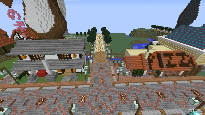 Minecrafterししゃもがマインクラフトでぷっこ村に石窯ピザ屋を作る15