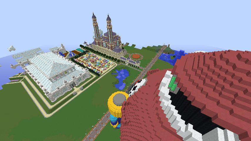 Minecrafterししゃもがマインクラフトでロックマンダッシュに登場するトロンの愛機、グスタフをつくる10