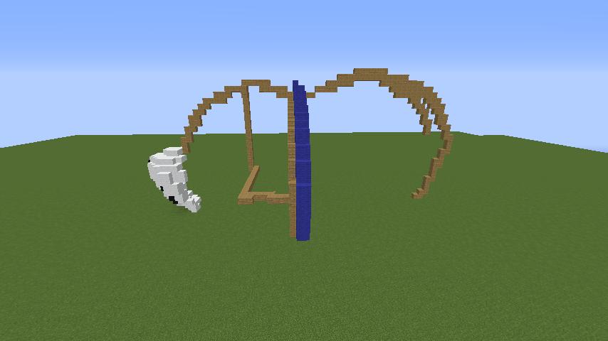 Minecrafterししゃもがマインクラフトでリクエストいただいたもちしばを作る1